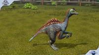 侏罗纪世界游戏第986期:混种生物慢鳄龙★恐龙公园★哲爷和成哥