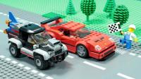 定格动画-乐高城市故事之超跑赛车速度极限