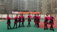 阳光美梅广场舞《爱了你那么久》原创16步-团队版-编舞:美梅
