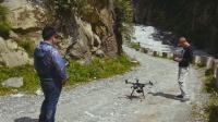 白瞎一架无人机,为拍摄夏尔巴人才蜂巢,航拍器掉江里啦