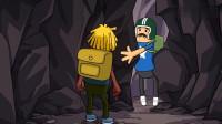 搞笑吃鸡动画:雷神遭遇BUG生无可恋,竟将毕生绝学传授于马可波?