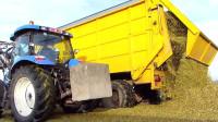 机械之农业科技大型农业收割机