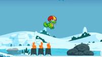 育儿玩具小游戏:小鳄鱼挑战小蜗牛!能通关吗?