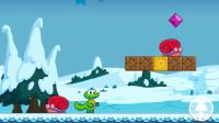 育儿玩具小游戏视频:兔子鳄鱼都怕小蜗牛!鳄鱼小游戏真好玩!猴子玩具