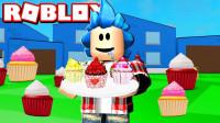 小飞象解说✘Roblox甜品模拟器 美食总动员满地都是美味蛋糕?乐高小游戏
