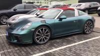 保时捷911  Targa  911车型里外观最具特色,最经典,最梦幻,越看越喜欢的超级敞篷跑车