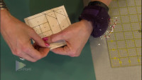 机缝拼布之FPP纸样翻缝Foundation Paper Piecing教程第2部分 by On Point
