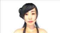美女表情动画,daz3d 作品