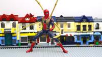 定格动画-乐高城市故事之超级英雄对抗赛