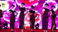 浓浓的海派风韵,青春靓丽的旗袍舞蹈:心恋,编导:王林方,表演:人保财险