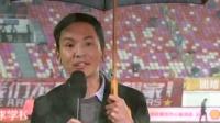 天河体育中心现场最消息  赛前黄博文接受记者采访
