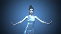 肚皮舞动画作品,daz3d 软件制作