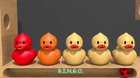 宝宝色彩启蒙早教视频彩色蛋放微波炉加热后,孵化出小鸭子