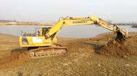 挖掘机挖土工作视频 工程车挖土机施工表演儿童视频大全