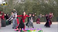 紫竹院广场舞——爱的部落,队形排练中