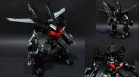 乐高MOC蝙蝠侠Darkblade黑刃机甲积木