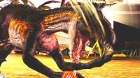 小鸢解说 1201暴虐迅猛龙来也,血量六千攻三千简直无解 侏罗纪世界★恐龙公园