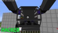 我的世界动画-巨型机器人 vs 末影人军团