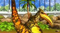 小鸢解说 1203翼手龙30级,属性克制伤害两千三 侏罗纪世界★恐龙公园