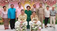 中国富商迎娶泰国美女 千万彩礼3万宾客出席