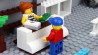 乐高Lego:商店购买新苹果IphoneX手机游戏