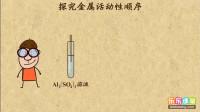 初中化学九年级下册 探究金属活动性顺序