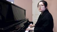 钢琴儿歌《粉刷匠》部分半分解和弦伴奏技巧详解