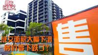 一线城市新房成交面积大幅下滑  房价要下跌了?