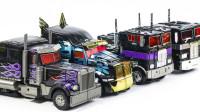 变形金刚还原G1和电影版超级炫酷的擎天柱卡车机器人玩具