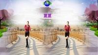 好心情蓝蓝广场舞原创【119】优美抒情舞【红枣树正背面】附教学