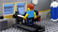 乐高Lego:健身房里小人为什么这么倒霉呢?游戏