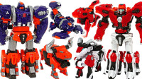 超兽武装一键自动变形玩具变形金刚机器人