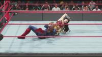 惊奇大妈 VS 神奇女侠!WWE2K19 电脑VS电脑