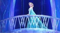 冰雪奇缘:爱莎公主魔法泄露,逃出城堡打造冰雪王国