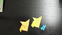 用一张纸片就能折出可爱小狐狸,超生动可爱,看看是怎么做的吧