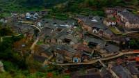 """大山深处的山下鲍村,被称为山中""""小拉萨"""",风景优美百年古村落"""