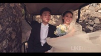 """LIKEFILM明星婚礼【自然女神Bali完美大婚,我们绝不说她叫""""马伊咪""""】"""