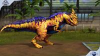 侏罗纪世界游戏第1004期:胜王龙螈是个小个子★恐龙公园★哲爷和成哥