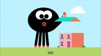 《嗨道奇第一季》哇,超级大的蜘蛛,是黑色的