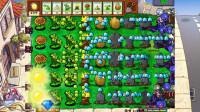 植物大战僵尸超级修改版01:植物无限叠加,火炬树桩变冰豌豆