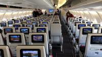 空客A330经济舱侧风降落