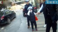 """安徽淮北:六岁白血病患儿圆了""""交警梦"""""""