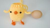 【A125】菲菲姐家_钩针网红鸡蛋兜鸡蛋袋教程