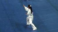 第一次参加太极拳亚洲杯比赛,就斩获24式太极冠军,大师也佩服