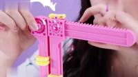小伶玩具:一起做手工啦!有了这个工具,毛线制作也简单了