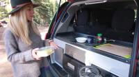 亲子床车去旅行 mpv自建床车露营 塞纳最完美的mpv露营车改装方案
