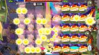 猴子玩具儿童小游戏育儿视频:植物大战僵尸2,炫酷歌手向日葵,大嘴金蟾菇!