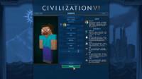 我的世界史蒂夫穿越文明6 挑战风云变幻神级文明