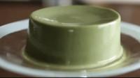 牛人做的抹茶布丁,挖一勺口水都忍不住了!