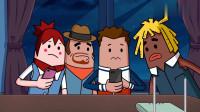 搞笑吃鸡动画:瓦特展示游戏新技巧,没想到门槛这么高,大家直呼学不来